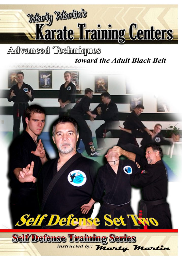 Self Defense Set Two - Advanced Level 1 (33 videos)