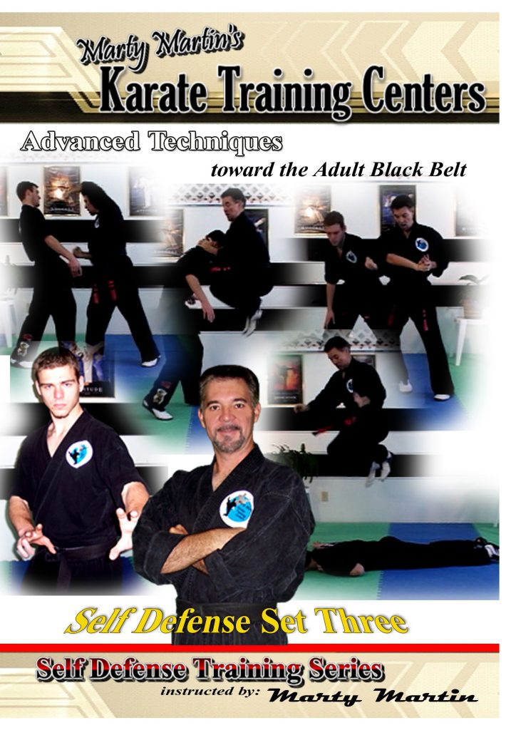 Self Defense Set Three - Advanced Level 2 (17 videos)